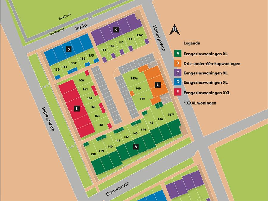 cluster11 plattegrond